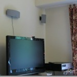 How to hide wall mounted speaker wires in your apartment for under $3