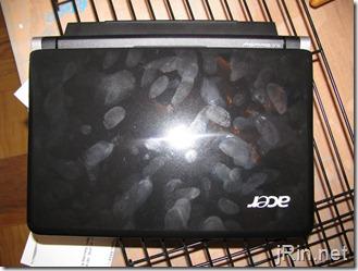 acer aspire one 10 aod150 lid fingerprints