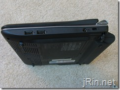 acer aspire one 10 aod150 right side