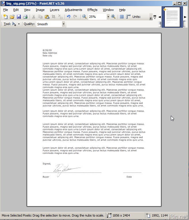 How to add your signature to a PDF for free | jRin.net Cutepdf Printer