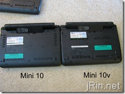 dell mini 10 vs 10v upgrades