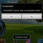 How to take a screenshot on the Eee Pad Transformer