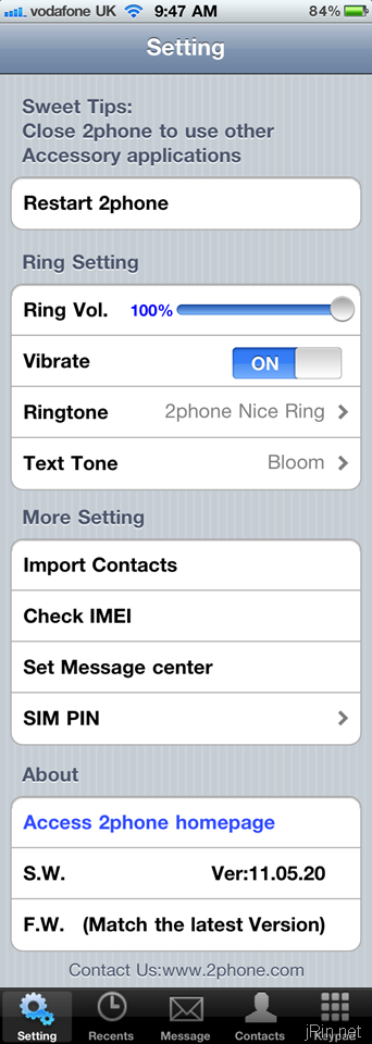 einstellung voicemail pro iphone