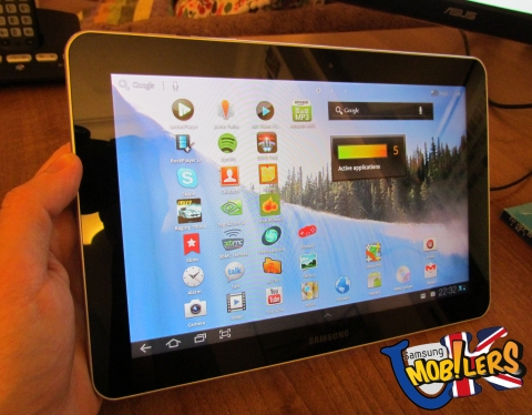samsung galaxy tab wifig p review