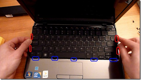 keyboard tabs and clips