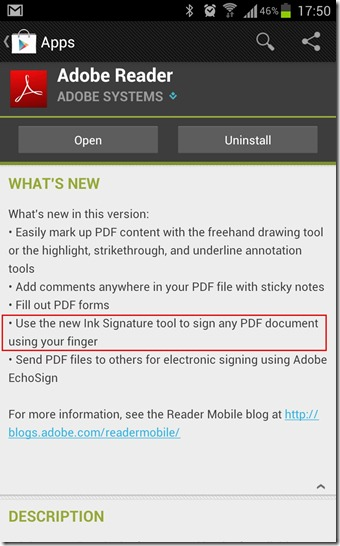 adobe reader features