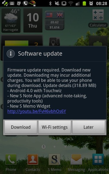 notable changes with ics android 4 0 3 for galaxy note jrin net