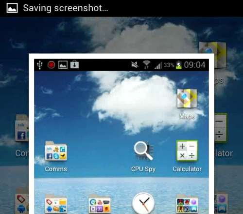 How to take a screenshot with the Samsung Galaxy S3