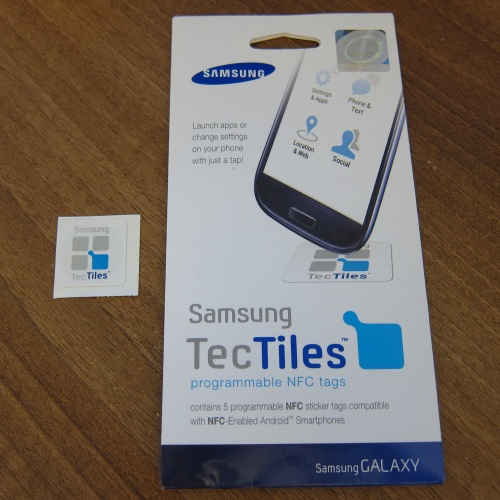 jRin net » Samsung TecTiles NFC tags – Review