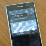How to take a screenshot on the Sony Xperia Z1