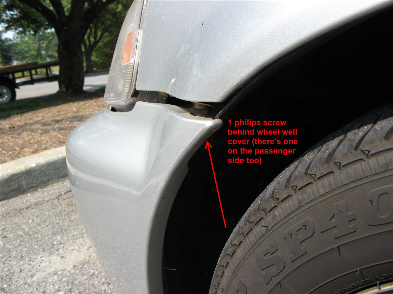 jRin net » HowTo – Civic front bumper removal