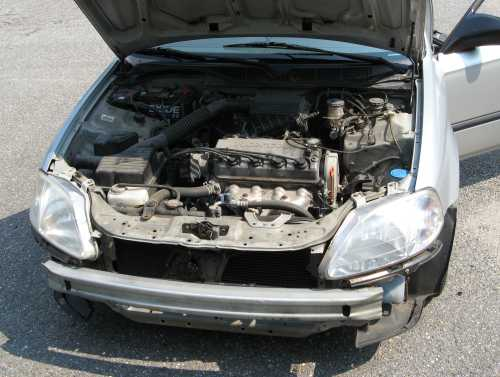 HowTo – Civic front bumper removal