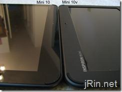 dell mini 10 vs 10v screens
