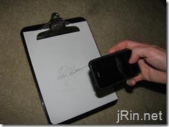 get the signature
