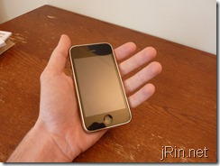 hand iphone