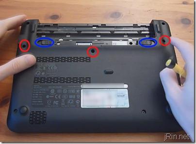 1 battery keyboard screws