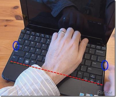 2 keyboard hinge