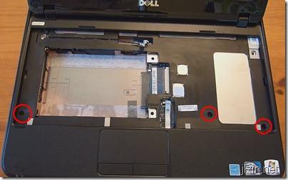 4 palmrest top screws