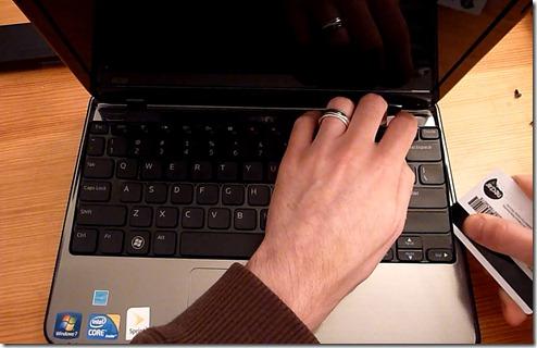 keyboard credit card