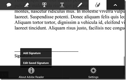 adobe add signature